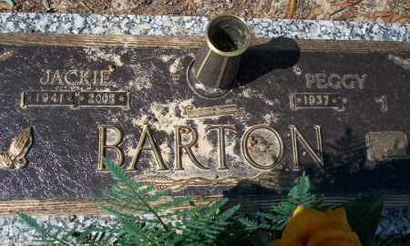 BARTON, JACKIE (CLOSE UP) - Columbia County, Arkansas | JACKIE (CLOSE UP) BARTON - Arkansas Gravestone Photos