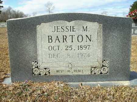 BARTON, JESSIE M - Columbia County, Arkansas | JESSIE M BARTON - Arkansas Gravestone Photos