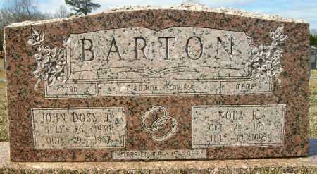BARTON, NOLA R - Columbia County, Arkansas | NOLA R BARTON - Arkansas Gravestone Photos
