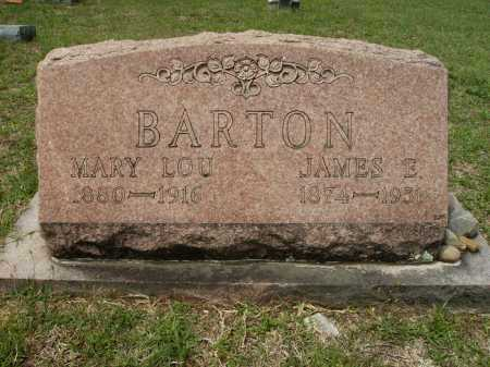 BARTON, JAMES E - Columbia County, Arkansas | JAMES E BARTON - Arkansas Gravestone Photos