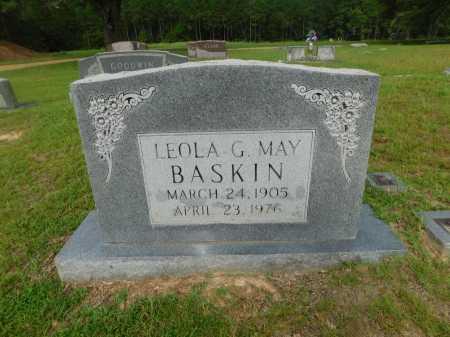 BASKIN, LEOLA G - Columbia County, Arkansas | LEOLA G BASKIN - Arkansas Gravestone Photos