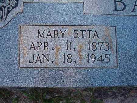 BASKIN, MARY ETTA - Columbia County, Arkansas | MARY ETTA BASKIN - Arkansas Gravestone Photos