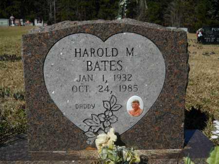 BATES, HAROLD M - Columbia County, Arkansas   HAROLD M BATES - Arkansas Gravestone Photos