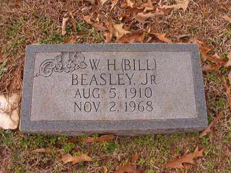 BEASLEY, JR, W H (BILL) - Columbia County, Arkansas   W H (BILL) BEASLEY, JR - Arkansas Gravestone Photos