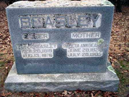 BEASLEY, WM - Columbia County, Arkansas | WM BEASLEY - Arkansas Gravestone Photos