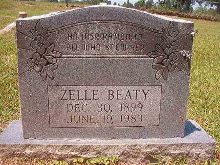 BEATY, ZELLE - Columbia County, Arkansas   ZELLE BEATY - Arkansas Gravestone Photos