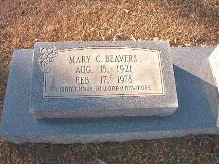 BEAVERS, MARY C - Columbia County, Arkansas | MARY C BEAVERS - Arkansas Gravestone Photos
