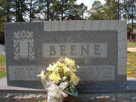 HENWYNA BEENE, MARGARET - Columbia County, Arkansas | MARGARET HENWYNA BEENE - Arkansas Gravestone Photos