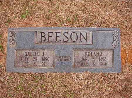 BEESON, SALLIE J - Columbia County, Arkansas | SALLIE J BEESON - Arkansas Gravestone Photos