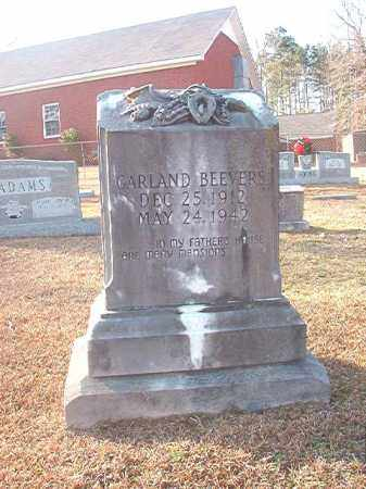 BEEVERS, GARLAND - Columbia County, Arkansas | GARLAND BEEVERS - Arkansas Gravestone Photos