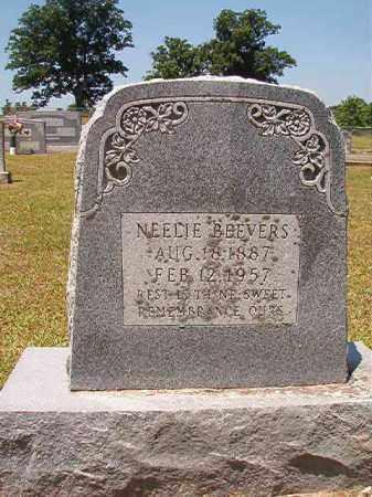 BEEVERS, NEELIE - Columbia County, Arkansas | NEELIE BEEVERS - Arkansas Gravestone Photos