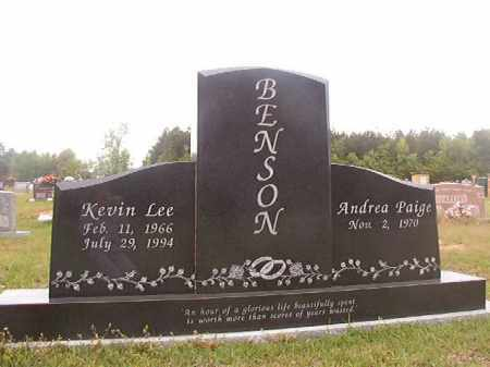 BENSON, KEVIN LEE - Columbia County, Arkansas | KEVIN LEE BENSON - Arkansas Gravestone Photos