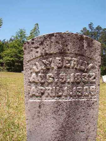BERLY, JOHN Y (BIO) - Columbia County, Arkansas | JOHN Y (BIO) BERLY - Arkansas Gravestone Photos