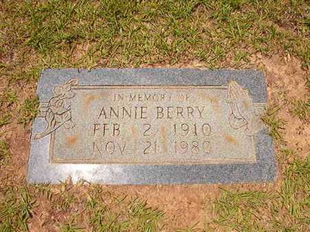 BERRY, ANNIE - Columbia County, Arkansas | ANNIE BERRY - Arkansas Gravestone Photos