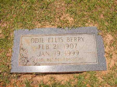 BERRY, ODIE ELLIS - Columbia County, Arkansas | ODIE ELLIS BERRY - Arkansas Gravestone Photos