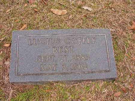 BEST, LUCIUS COFFEE - Columbia County, Arkansas | LUCIUS COFFEE BEST - Arkansas Gravestone Photos