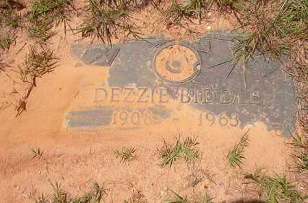 BIDDLE, DEZZIE - Columbia County, Arkansas | DEZZIE BIDDLE - Arkansas Gravestone Photos