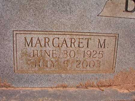 BLACK, MARGARET M - Columbia County, Arkansas | MARGARET M BLACK - Arkansas Gravestone Photos