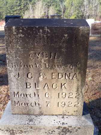 BLACK, SYBIL - Columbia County, Arkansas | SYBIL BLACK - Arkansas Gravestone Photos