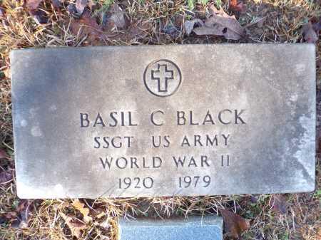 BLACK (VETERAN WWII), BASIL C - Columbia County, Arkansas   BASIL C BLACK (VETERAN WWII) - Arkansas Gravestone Photos