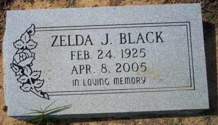 BLACK, ZELDA J - Columbia County, Arkansas | ZELDA J BLACK - Arkansas Gravestone Photos