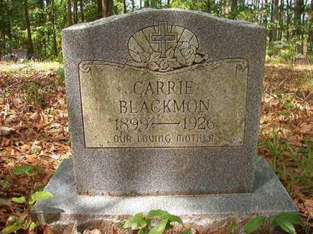 BLACKMON, CARRIE - Columbia County, Arkansas | CARRIE BLACKMON - Arkansas Gravestone Photos