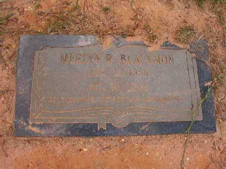 BLACKMON, MERLYN R - Columbia County, Arkansas | MERLYN R BLACKMON - Arkansas Gravestone Photos