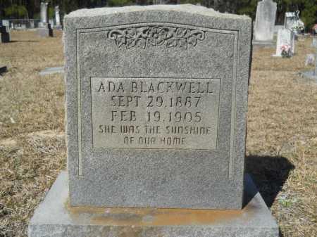 BLACKWELL, ADA - Columbia County, Arkansas | ADA BLACKWELL - Arkansas Gravestone Photos