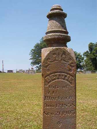 BLACKWELL, BETTIE - Columbia County, Arkansas   BETTIE BLACKWELL - Arkansas Gravestone Photos