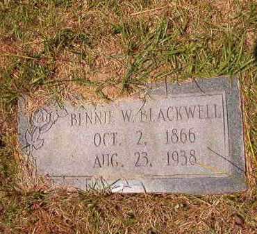 BLACKWELL, BENNIE WINN - Columbia County, Arkansas | BENNIE WINN BLACKWELL - Arkansas Gravestone Photos