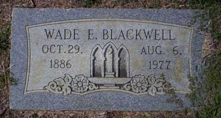 BLACKWELL, WADE E - Columbia County, Arkansas   WADE E BLACKWELL - Arkansas Gravestone Photos