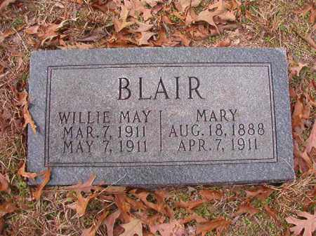 BLAIR, WILLIE MAY - Columbia County, Arkansas | WILLIE MAY BLAIR - Arkansas Gravestone Photos