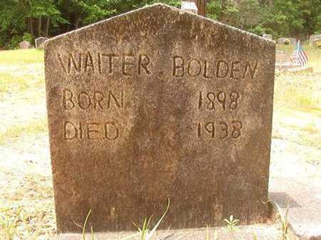BOLDEN, WALTER - Columbia County, Arkansas | WALTER BOLDEN - Arkansas Gravestone Photos
