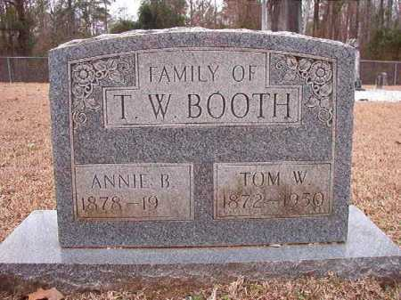 BOOTH, ANNIE B - Columbia County, Arkansas | ANNIE B BOOTH - Arkansas Gravestone Photos