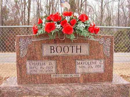 BOOTH, CHARLIE D - Columbia County, Arkansas | CHARLIE D BOOTH - Arkansas Gravestone Photos