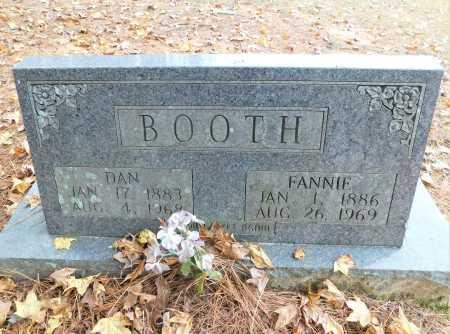 BOOTH, FANNIE - Columbia County, Arkansas | FANNIE BOOTH - Arkansas Gravestone Photos