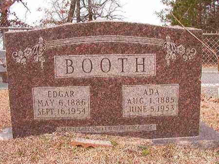 BOOTH, ADA - Columbia County, Arkansas   ADA BOOTH - Arkansas Gravestone Photos
