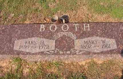 BOOTH, MARY W - Columbia County, Arkansas   MARY W BOOTH - Arkansas Gravestone Photos