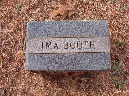 BOOTH, IMA - Columbia County, Arkansas | IMA BOOTH - Arkansas Gravestone Photos