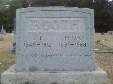 BOOTH, J F - Columbia County, Arkansas | J F BOOTH - Arkansas Gravestone Photos
