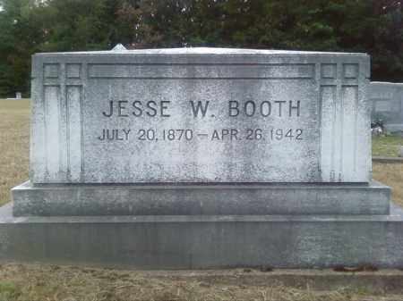 BOOTH, JESSE W - Columbia County, Arkansas   JESSE W BOOTH - Arkansas Gravestone Photos