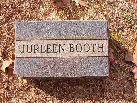 BOOTH, JURLEEN - Columbia County, Arkansas | JURLEEN BOOTH - Arkansas Gravestone Photos