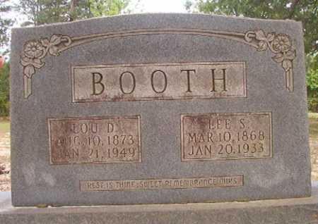BOOTH, LEE S - Columbia County, Arkansas | LEE S BOOTH - Arkansas Gravestone Photos