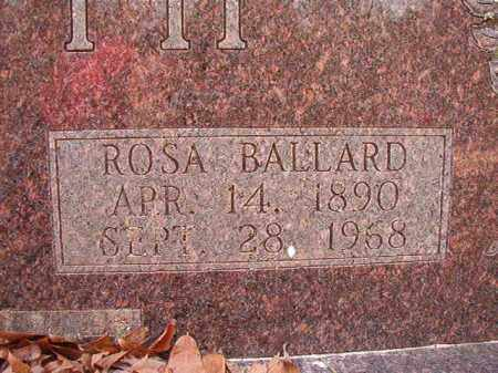 BOOTH, ROSA - Columbia County, Arkansas | ROSA BOOTH - Arkansas Gravestone Photos