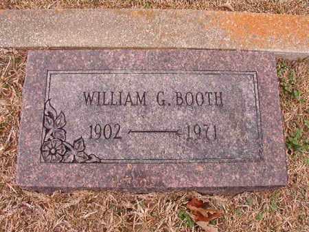 BOOTH, WILLIAM G - Columbia County, Arkansas   WILLIAM G BOOTH - Arkansas Gravestone Photos