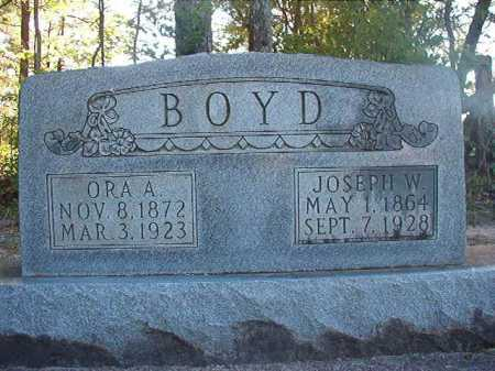BOYD, ORA A - Columbia County, Arkansas | ORA A BOYD - Arkansas Gravestone Photos