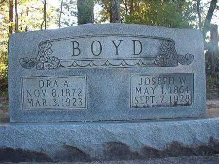 BOYD, JOSEPH W - Columbia County, Arkansas | JOSEPH W BOYD - Arkansas Gravestone Photos