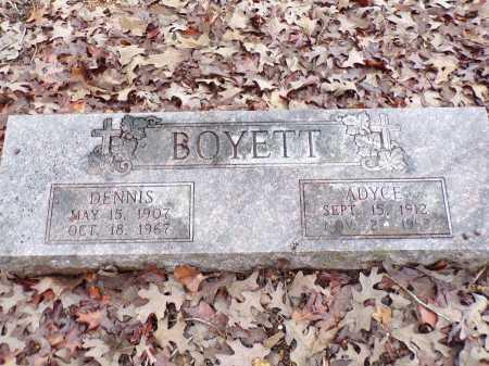 BOYETT, DENNIS - Columbia County, Arkansas | DENNIS BOYETT - Arkansas Gravestone Photos