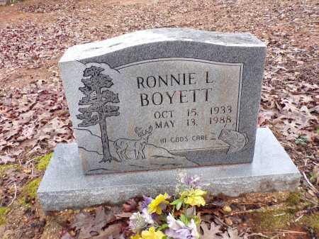 BOYETT, RONNIE L - Columbia County, Arkansas   RONNIE L BOYETT - Arkansas Gravestone Photos