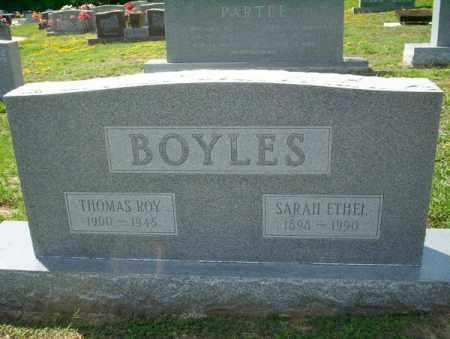 BOYLES, SARAH ETHEL - Columbia County, Arkansas | SARAH ETHEL BOYLES - Arkansas Gravestone Photos